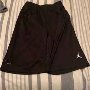 Boys Jordan shorts large